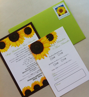 Wedding Invitations☆招待状で夏をお届け_c0161724_23303227.jpg