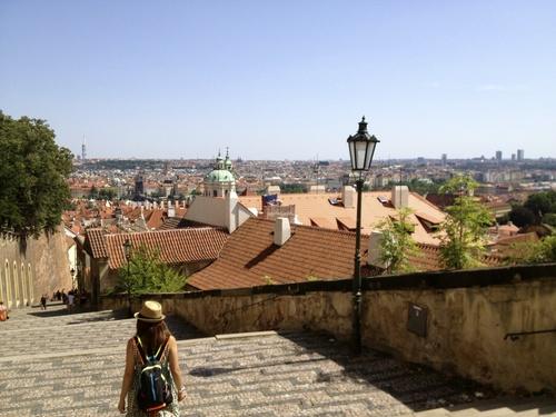 Czech 3 塔からの眺めとマーケット_a0229904_1732239.jpg