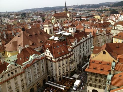 Czech 3 塔からの眺めとマーケット_a0229904_182257.jpg