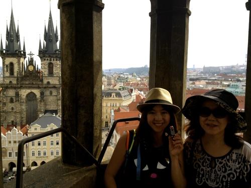 Czech 3 塔からの眺めとマーケット_a0229904_1855958.jpg