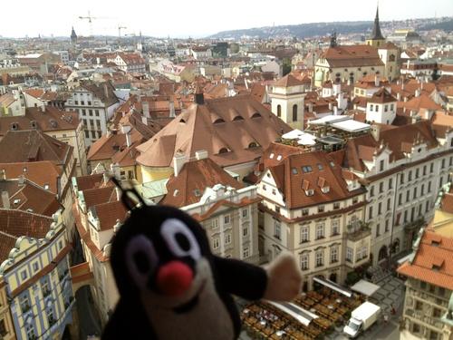 Czech 3 塔からの眺めとマーケット_a0229904_1865519.jpg
