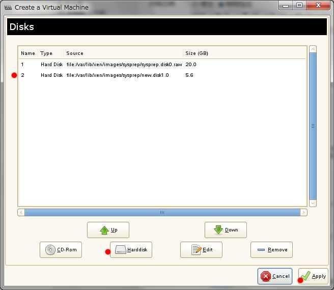 SUSE+XEN Windows のディスクドライブを増設_a0056607_12362857.jpg