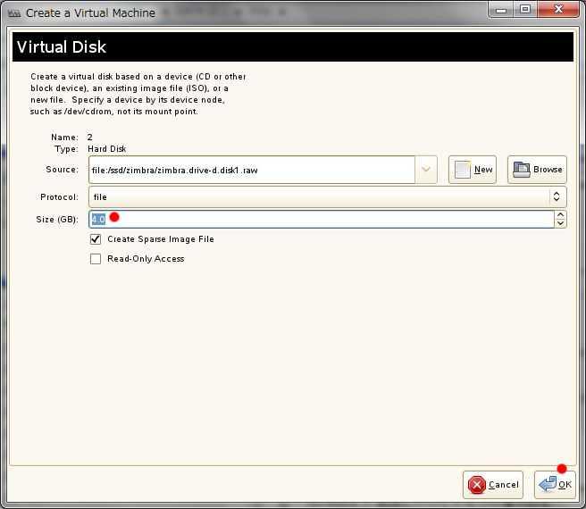 SUSE+XEN Windows のディスクドライブを増設_a0056607_1245510.jpg