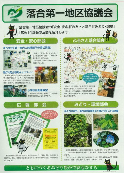 新宿区 落合第一地区協議会のポスターに登場!_f0193056_12432770.jpg
