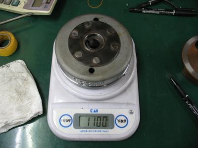オイル漏れ修理とフラホ軽量化と。_e0114857_2123464.jpg