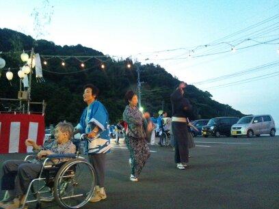 盆踊り 緑の園_d0230676_17185788.jpg