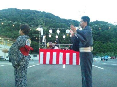 盆踊り 緑の園_d0230676_17195994.jpg