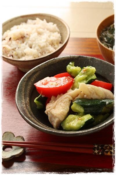 コラム更新・簡単作り置きレシピ!鶏もも編と梅シロップ_b0165178_203572.jpg