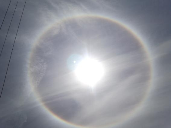 H25.8.22    虹の輪っか_b0184721_1132492.jpg