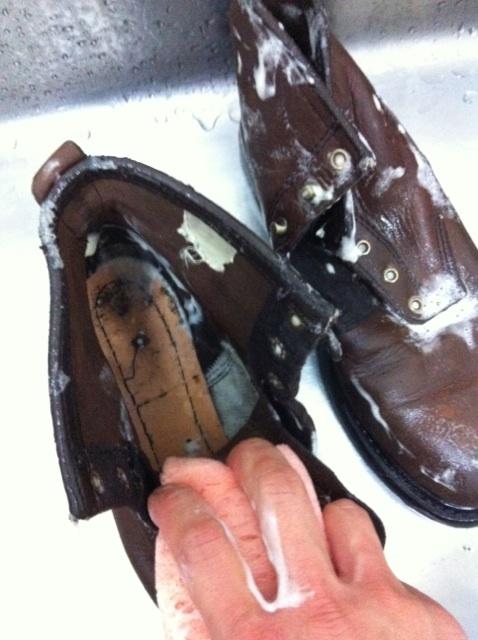 ブーツクリーニング 洗浄_b0178425_20102067.jpg