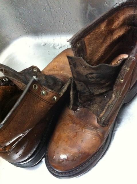 ブーツクリーニング 洗浄_b0178425_2084352.jpg