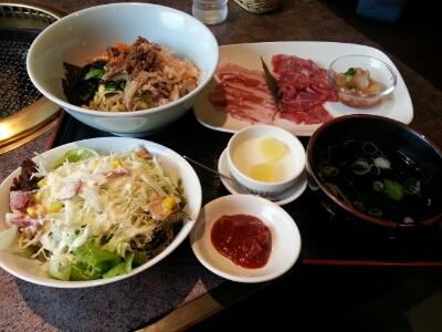 ヘルシー彩菜ランチで昼ごはん♪_d0219834_14392457.jpg