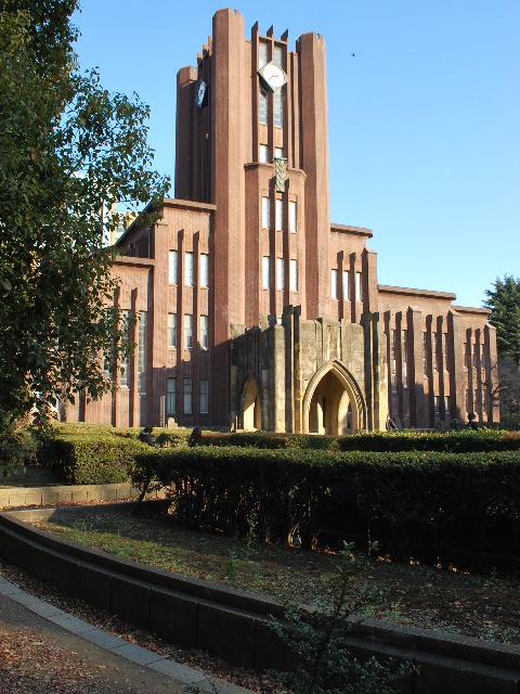 東京大学安田講堂(大正モダン建築探訪)_f0142606_17581792.jpg