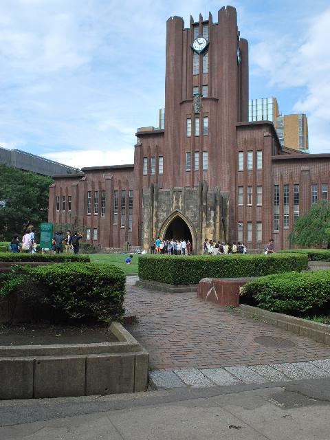 東京大学安田講堂(大正モダン建築探訪)_f0142606_17594596.jpg