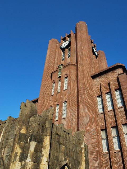 東京大学安田講堂(大正モダン建築探訪)_f0142606_186073.jpg