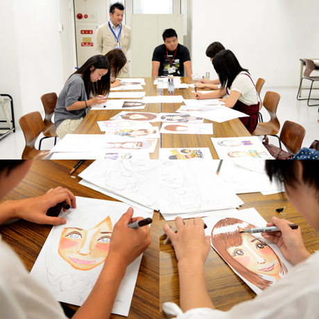 2013年8月24日、25日にNSCカレッジでは体験入学を開催 1_b0110019_2124123.jpg
