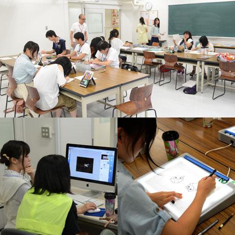 2013年8月24日、25日にNSCカレッジでは体験入学を開催 1_b0110019_212866.jpg