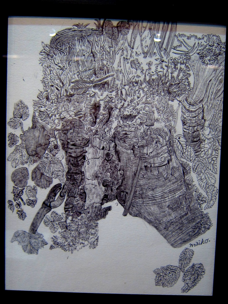 2163) 「鈴木麻衣子ボールペン画展 『クマと森』」 時計台 8月19日(月)~8月24日(土)   _f0126829_13491282.jpg