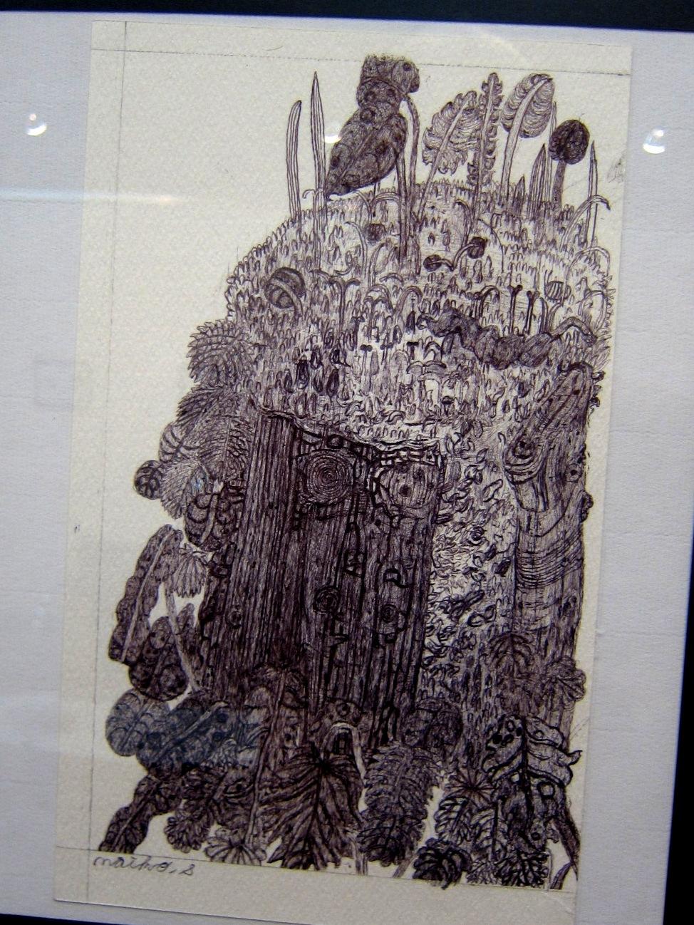 2163) 「鈴木麻衣子ボールペン画展 『クマと森』」 時計台 8月19日(月)~8月24日(土)   _f0126829_13492244.jpg