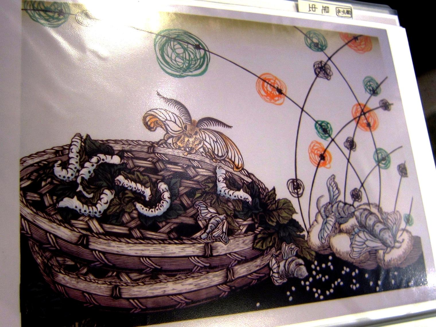 2164)「浅川良美 木版画展 『いきもの万歳』」 カフェエスキス 8月15日(木)~9月3日(火)  _f0126829_1733297.jpg