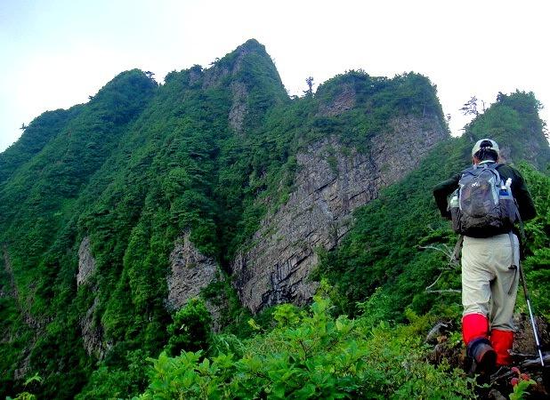 <2013年8月6~9日>越後の奥深き名峰(前編):奥只見の峻嶮峰「荒沢岳」_c0119160_945411.jpg