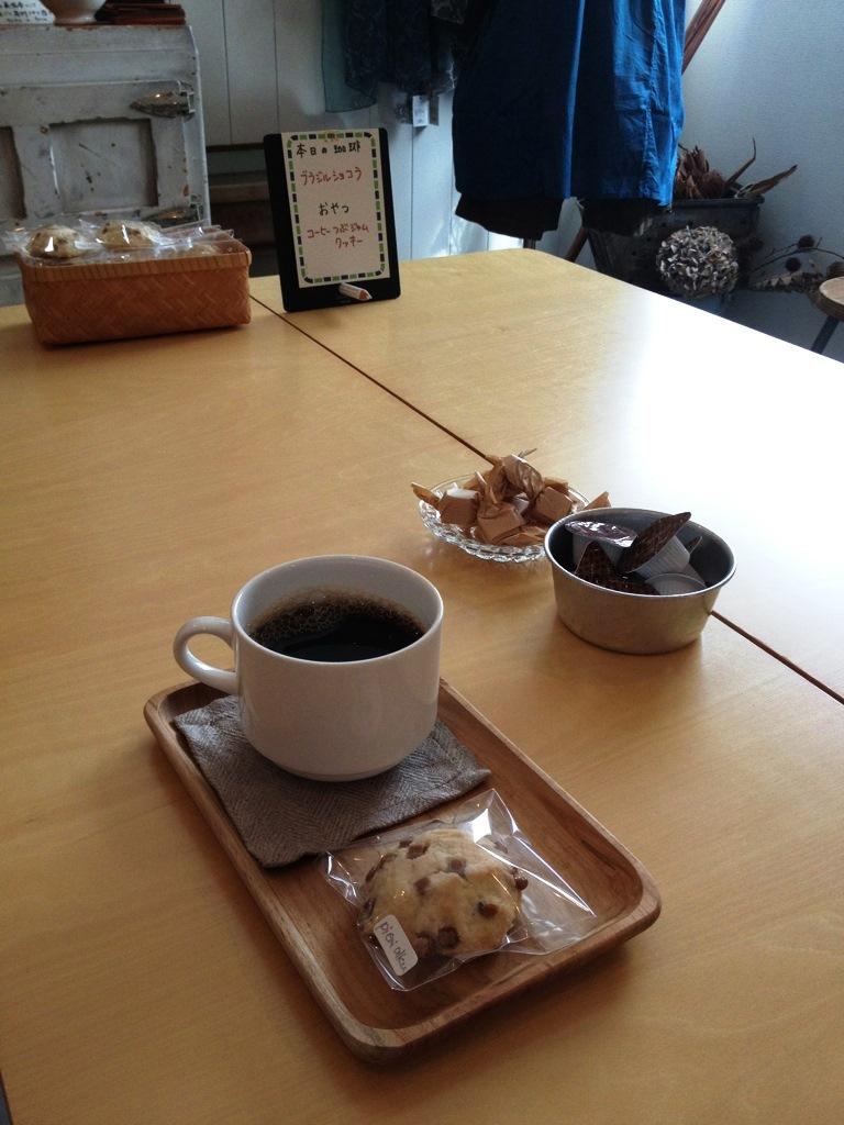 本日のoneday cafe。_a0164280_1515717.jpg