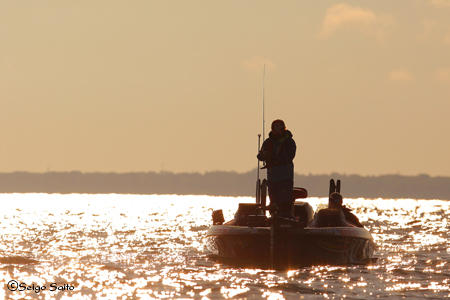 Bassmaster Elite Series #8 Lake St. Clair, MI  2日目_a0097491_7485942.jpg