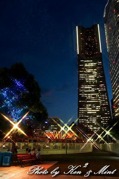 横浜 コスモワールドの夜景♪ 「クロスフィルター編」_e0218518_18205993.jpg
