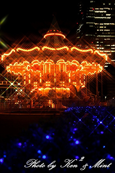 横浜 コスモワールドの夜景♪ 「クロスフィルター編」_e0218518_18211843.jpg