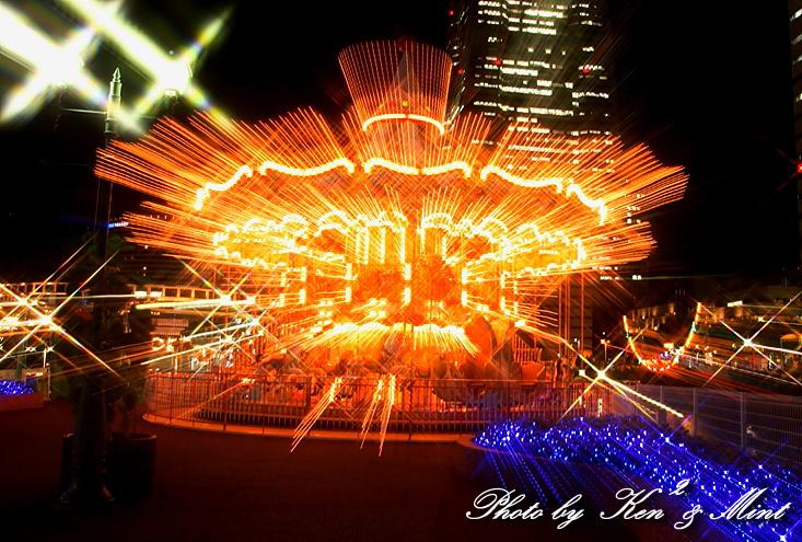 横浜 コスモワールドの夜景♪ 「クロスフィルター編」_e0218518_1822555.jpg