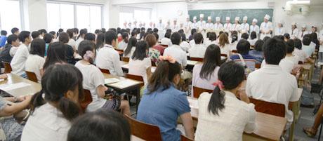 2013年8月24日、25日にNSCカレッジでは体験入学を開催 3_b0110019_1484640.jpg