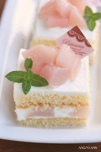 桃のショートケーキ♪ レシピ付♪_d0098954_2132942.jpg