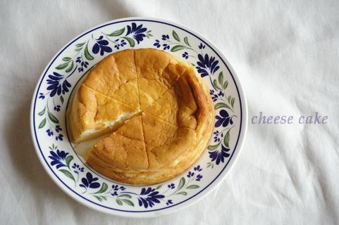 今日のチーズケーキ_d0327373_9554157.jpg