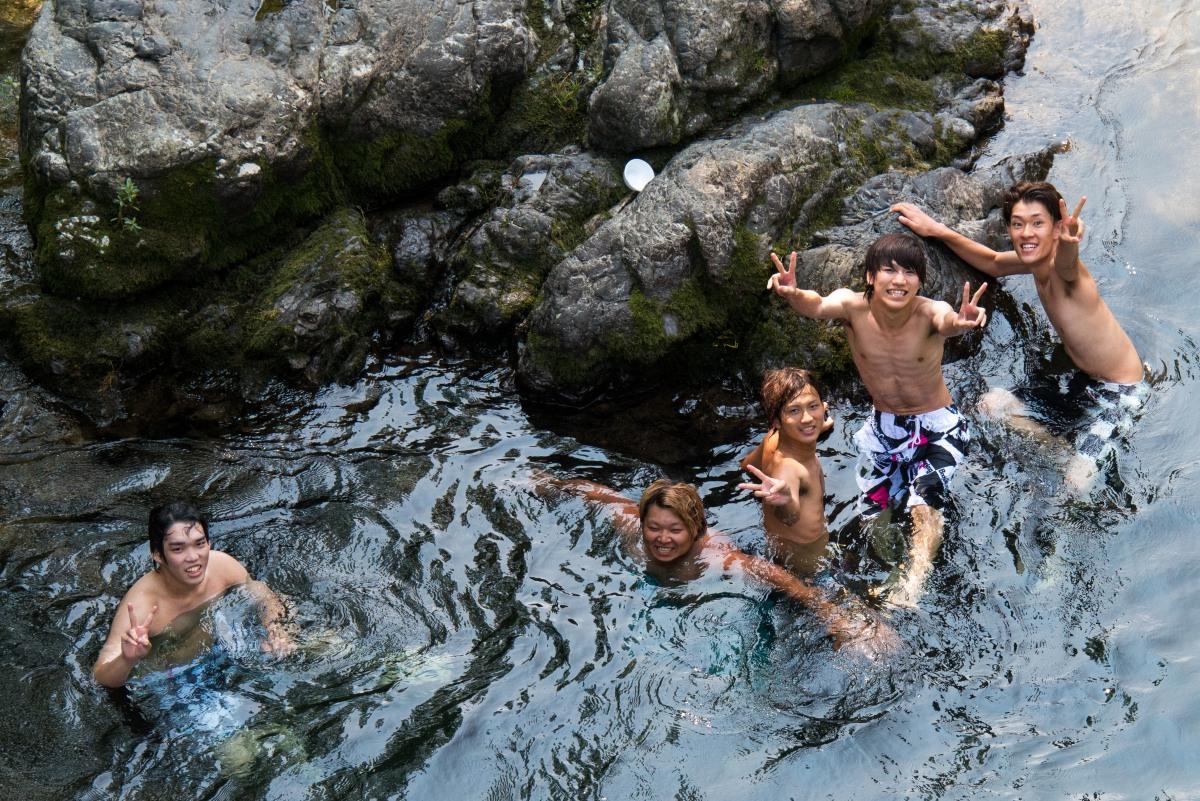 夏の郡上八幡 ☆川遊び編☆_e0223998_2353374.jpg