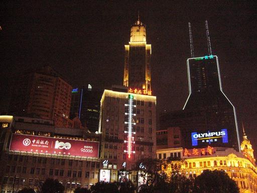 上海・外灘エリアの夜景を見て_f0221707_203642100.jpg