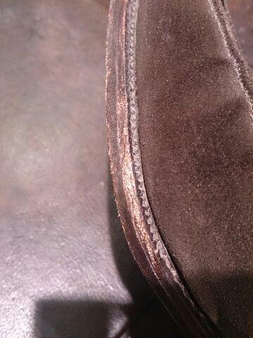 久々に出した靴のコバは・・・!?_b0226322_1951365.jpg
