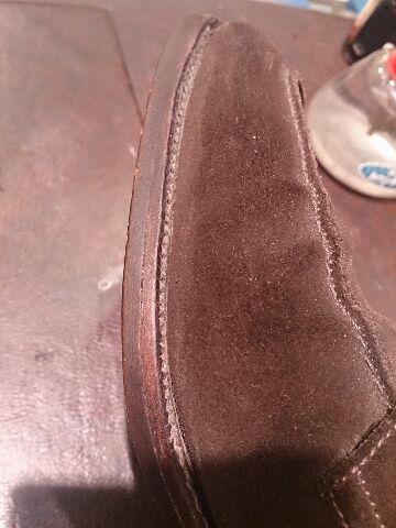 久々に出した靴のコバは・・・!?_b0226322_200177.jpg