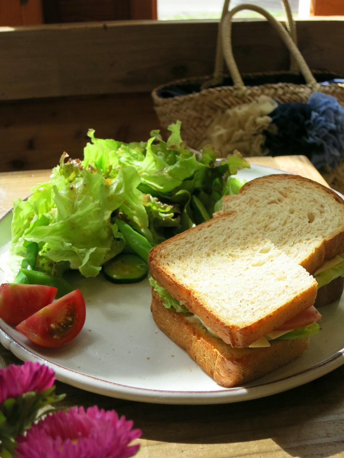 お野菜たっぷり☆六花のサンドイッチ&フレンチトースト@北軽<閉店>_f0236260_14312481.jpg
