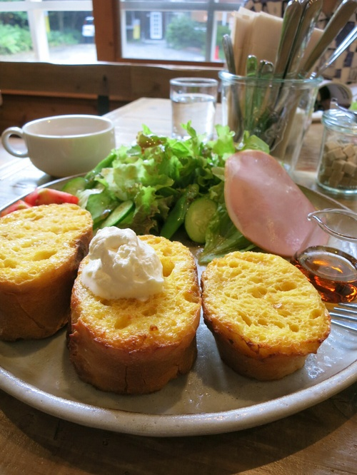お野菜たっぷり☆六花のサンドイッチ&フレンチトースト@北軽<閉店>_f0236260_14364634.jpg
