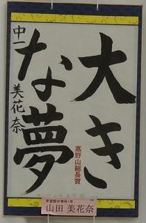第48回 高野山競書大会_a0213770_9274553.jpg