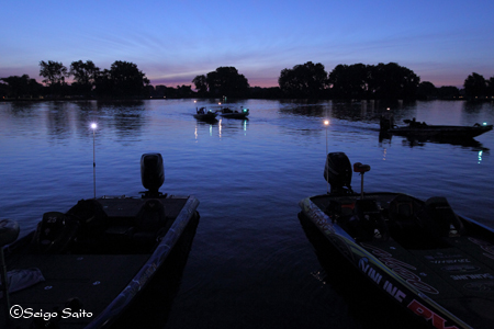Bassmaster Elite Series #8 Lake St. Clair, MI  最終日 決勝_a0097491_7312569.jpg