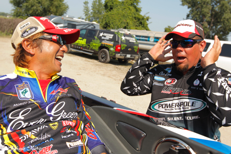 Bassmaster Elite Series #8 Lake St. Clair, MI  最終日 決勝_a0097491_744978.jpg
