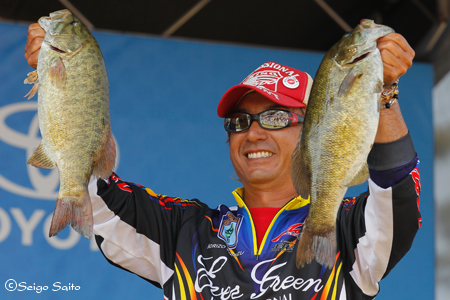 Bassmaster Elite Series #8 Lake St. Clair, MI  最終日 決勝_a0097491_7481146.jpg
