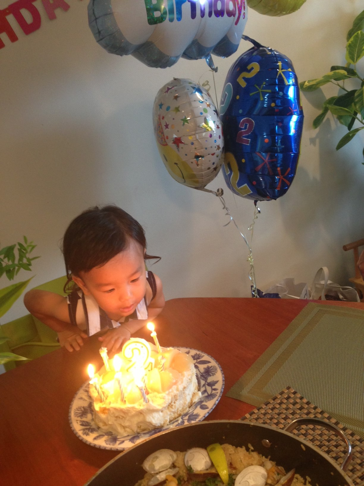 Happy 2nd birthday for Shion!!_e0253026_6133167.jpg