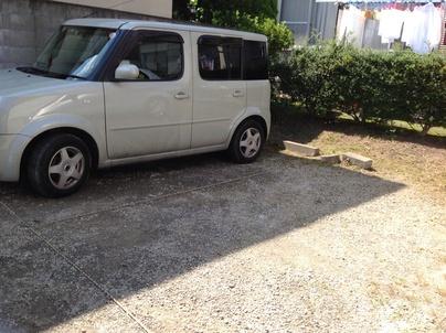 駐車場の除草と除草剤散布_c0186441_180233.jpg