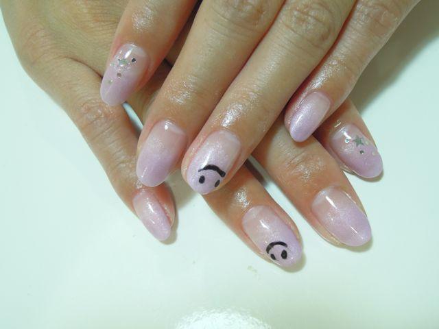Pink Purple Nail_a0239065_14534527.jpg