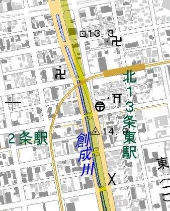 札幌の「基線」と街中の一等三角点_f0078286_22194025.jpg