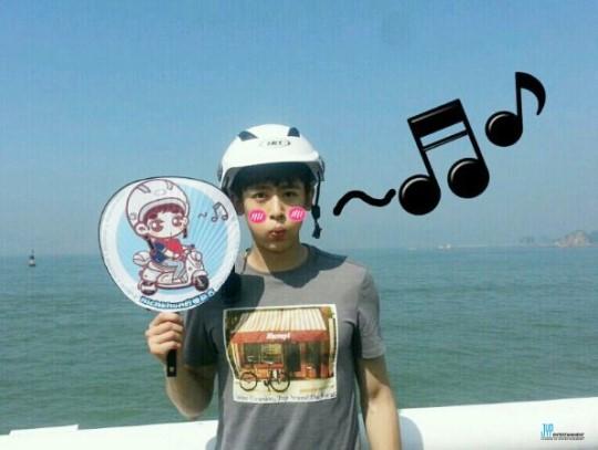 [스타캐스트] 2PM의 릴레이 다이어리 6. 저 멀리 중국에서 닉쿤으로부터読んでみました_d0020834_18395642.jpg
