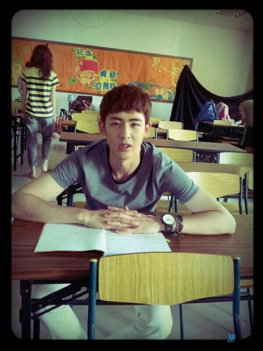 [스타캐스트] 2PM의 릴레이 다이어리 6. 저 멀리 중국에서 닉쿤으로부터読んでみました_d0020834_18414848.jpg