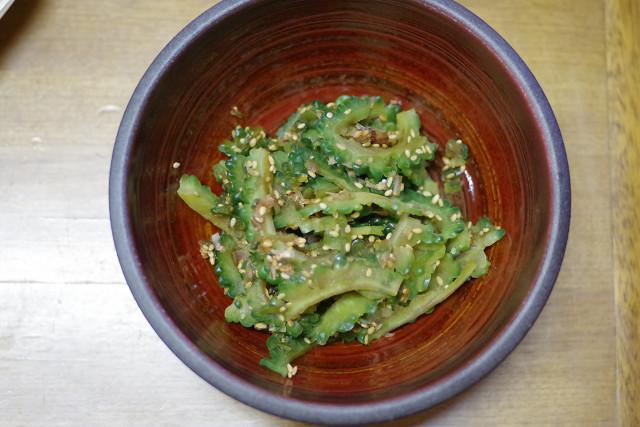 妻の菜園 ゴーヤづくし_a0278866_061368.jpg